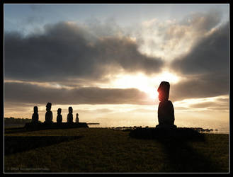 Easter Island by BeyondYourDreams