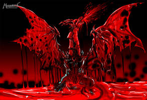 Dragon of Blood - Dracula by megaween