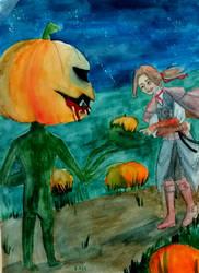 Secret giver. Halloween. by Arikava-Yuuichi
