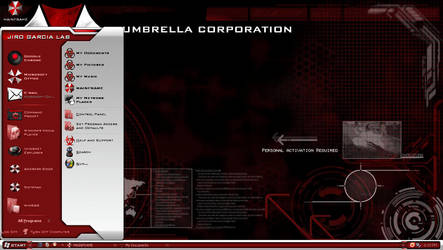 UMBRELLA CORPORATION WINDOWS THEME by nin0ybaltazar09