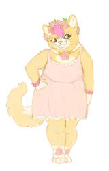 Pastel Cat by VolatileFortune