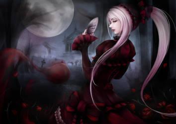 Shaltear Bloodfallen by DeFeNiXx