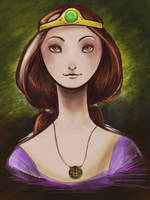 Queen Elinor by DragonBile