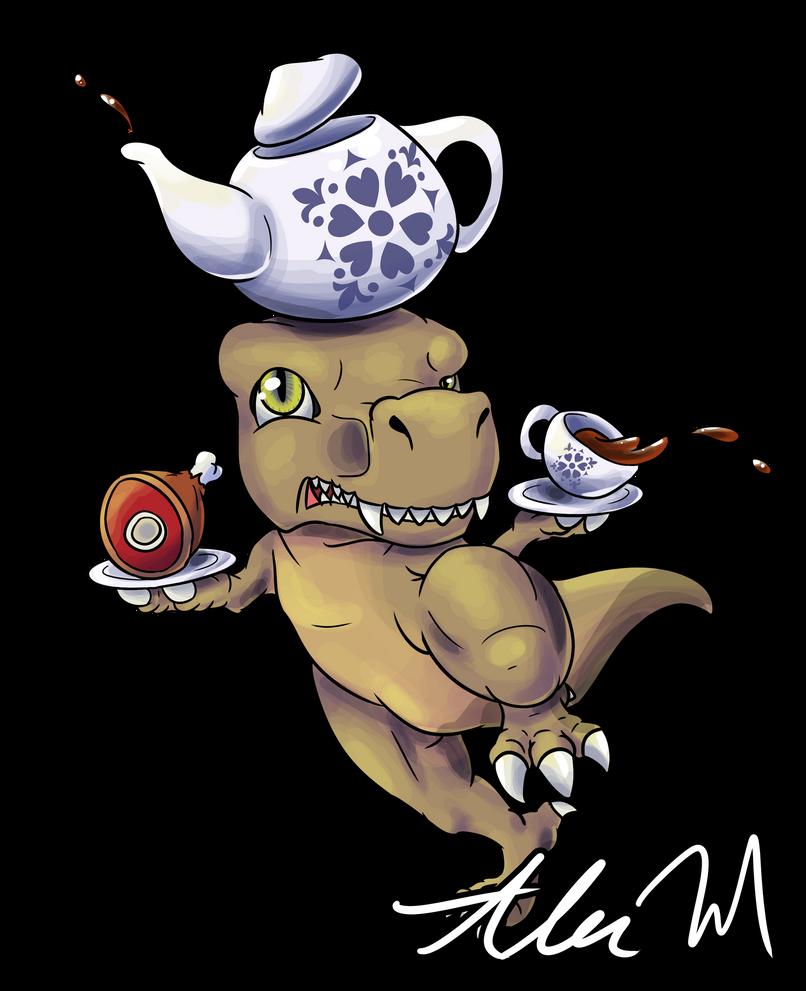 [Trove] Tiny Tea Rex by SkyTheVirus
