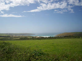 Blue Sky over Cornwall by Convict187