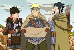 Naruto_AU by yleyn