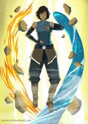 Avatar Korra by yleyn