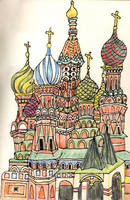 St. Basils Cathedral by lienertje