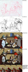 Foreign manners process by stucat