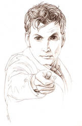 Doctor Who by tamiart