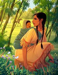 Sacagawea by tamiart