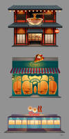 Eateries by tamiart