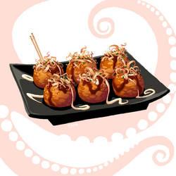 Takoyaki by tamiart