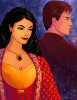 Inara And Mal by tamiart