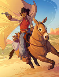Mary Fields by tamiart