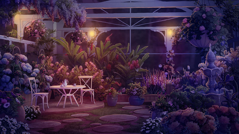 Medusa's Garden at Night by tamiart