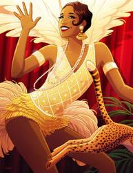 Josephine Baker by tamiart