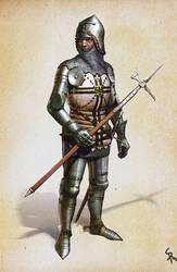 Teutonic Knight by CG-Zander