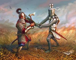 Duel of Liegnitz by CG-Zander