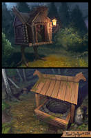 Magic places by CG-Zander