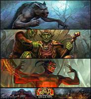 Monsters by CG-Zander