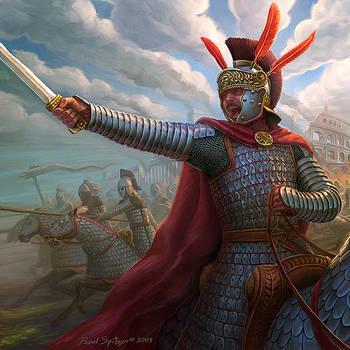 Clibanarii's attack by CG-Zander