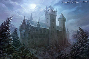 Dark castle by CG-Zander