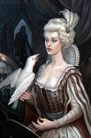 White crow by CG-Zander