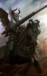 Imperial knight progressus by CG-Zander