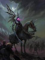 Spectral knight by CG-Zander
