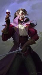 Vampire aristocrat by CG-Zander