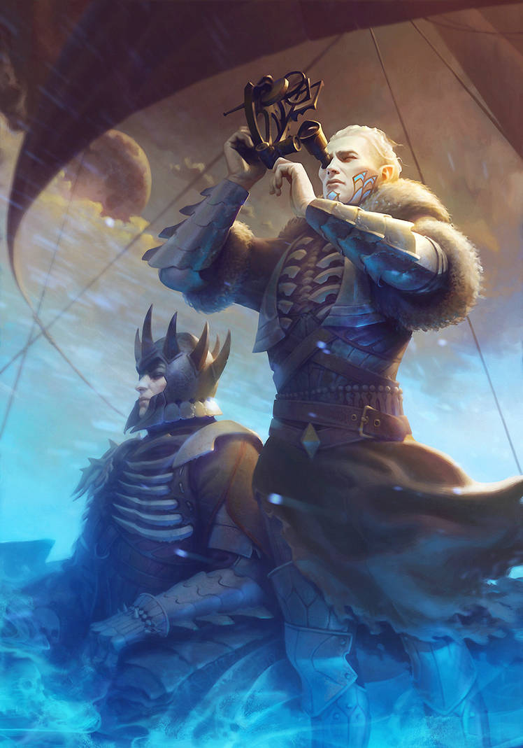 Caranthir: The Navigator by CG-Zander