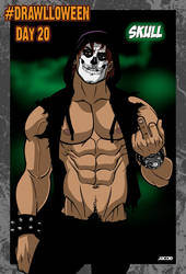 Drawlloween Day 20: Skull! by jacobmott