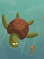 Sous l'ocean by neiba
