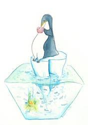 Penguin by Inkaeo