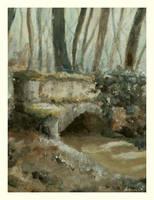 forest bridge by hartmano