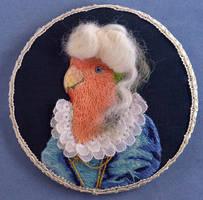 Baroque Lovebird by imagination-heart