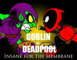 GOBLIN VS DEADPOOL by jihef03