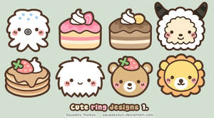 Cute ring designs 1 by SqueakyToybox