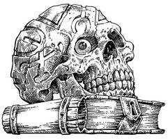 TFTMS-skull-F-BKM-lo by BKMcDevitt