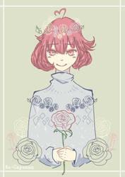 [ Fanart ] Dim Rose by Au-Cayanan