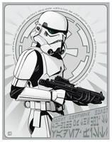 Stormtrooper Propaganda by jpc-art