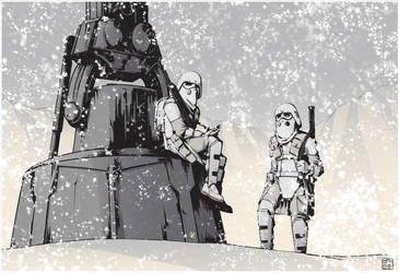 McQuarrie Concept Snowtroopers by jpc-art