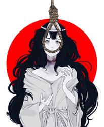 Yurei: Japanese Mythology by Wolf-Fram