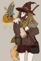 Happy October! by Wolf-Fram