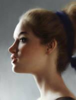 Portrait by tomvanrheenen