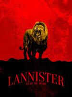 Lannister Poster by Vascan