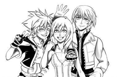 The destiny trio by EvelynLisian