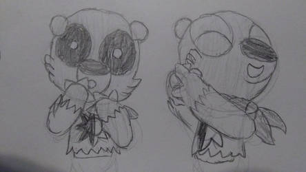 Bear cub expressions by TheGamedawg