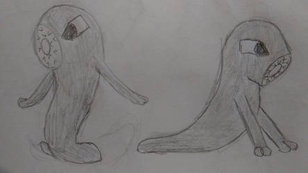 Leech drawings by TheGamedawg